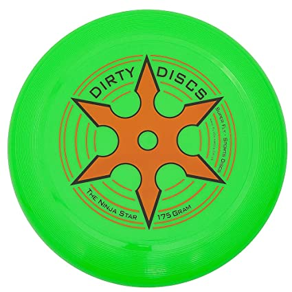 Amazon.com: Dirty Disc Ninja Star Throwing Disc Frisbee ...