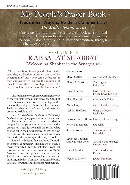 My People's Prayer Book Vol 8: Kabbalat Shabbat (Welcoming