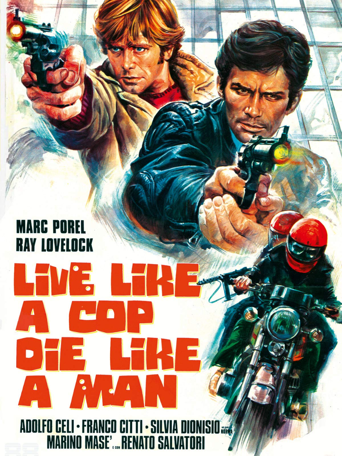 Live Like a Cop, Die Like a Man on Amazon Prime Video UK