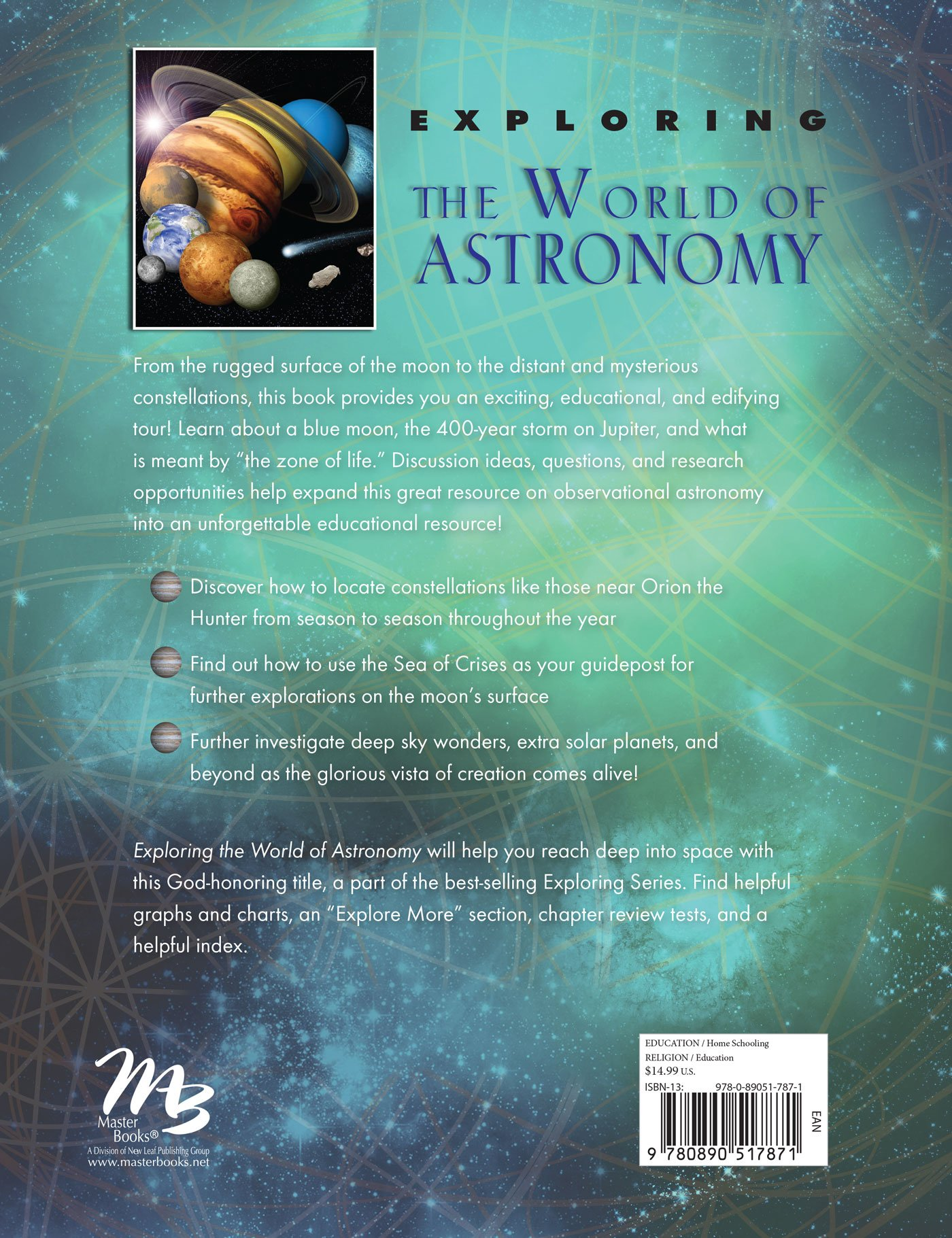 Exploring the World of Astronomy: From Center of the Sun to Edge of the  Universe: John Hudson Tiner: 9780890517871: Amazon.com: Books