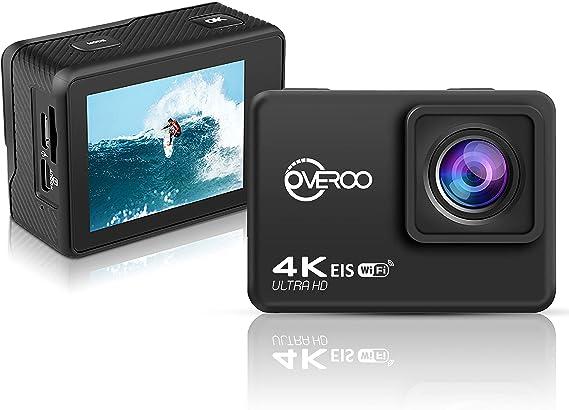 Action Cam Ultra Hd 4k 60fps Wasserdicht 30m Kamera