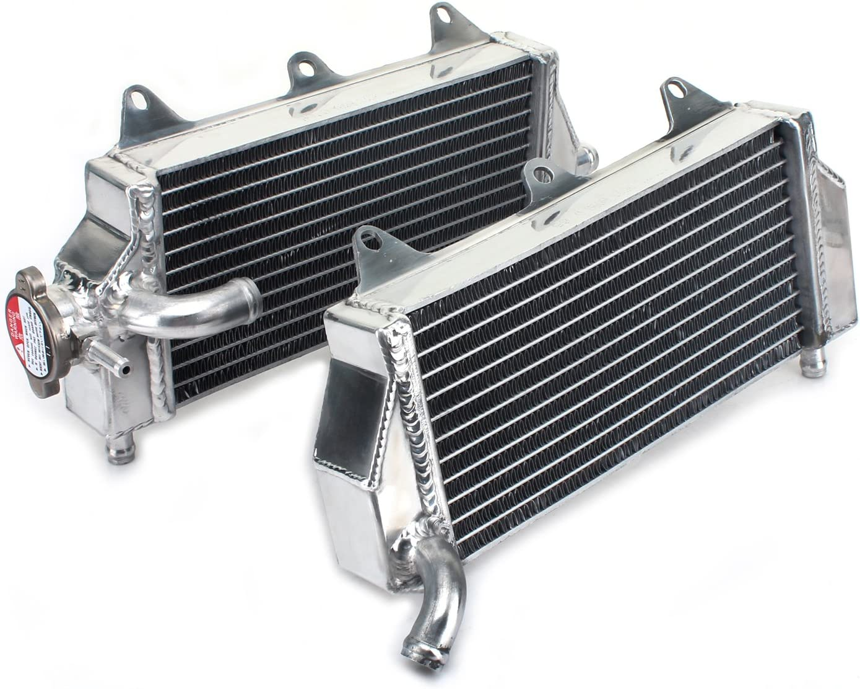 TARAZON Motorcycle Engine Water Cooling Cooler Aluminum Core Radiator for Yamaha YZ450F YZ 450 F YZ-F 2010 2011