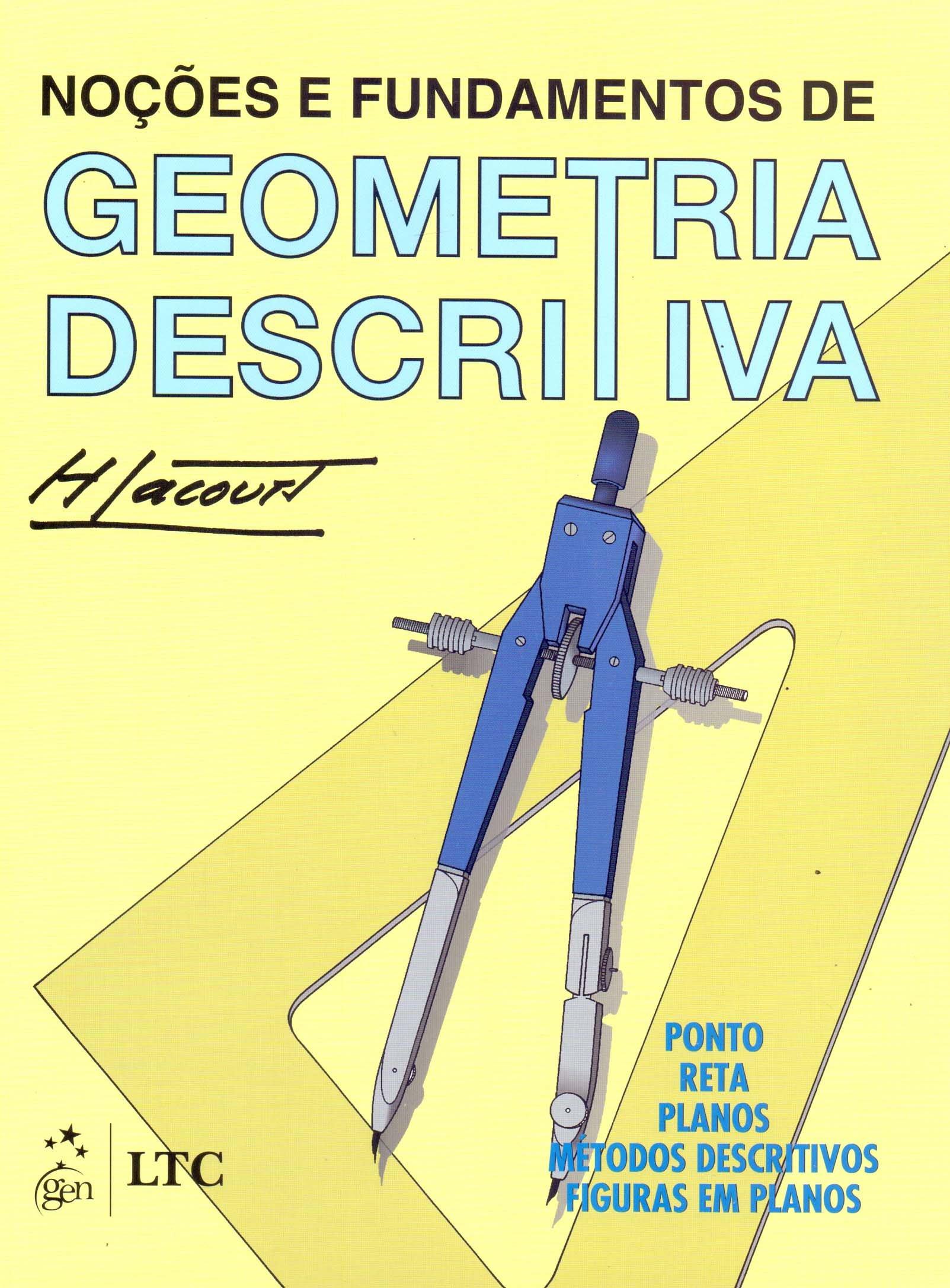 b816da42c Noções e Fundamentos de Geometria Descritiva - 9788527703406 - Livros na  Amazon Brasil