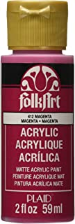 product image for FolkArt Acrylic Paint in Assorted Colors (2 oz), 412, Magenta