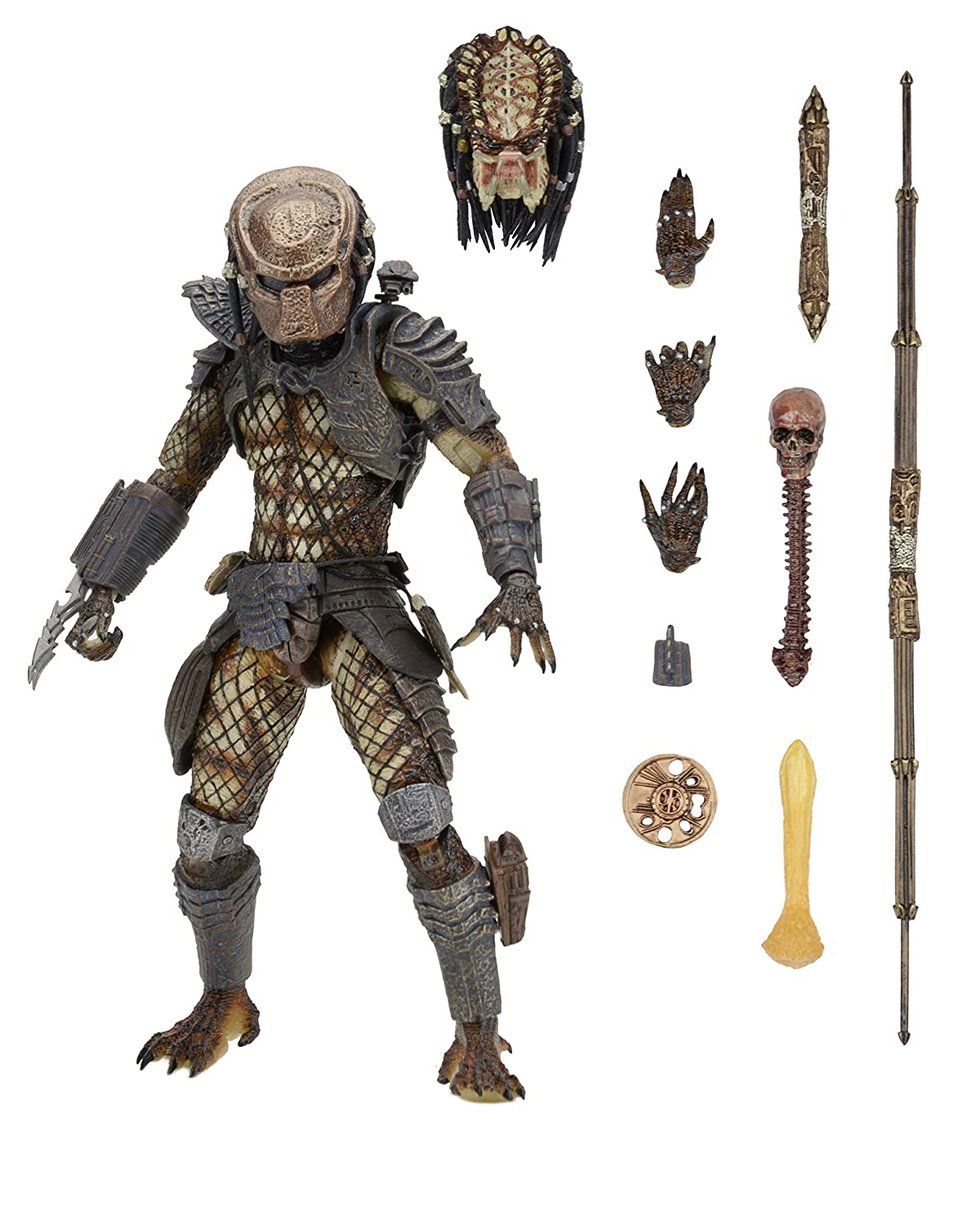 NECA Predator Ultimate City Hunter Action Figure, 2-7""