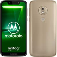 motorola moto g7 Play 5.7-Inch Android 9.0 Pie UK Sim-Free Smartphone with 2GB RAM and 32GB Storage (Single Sim) – Gold