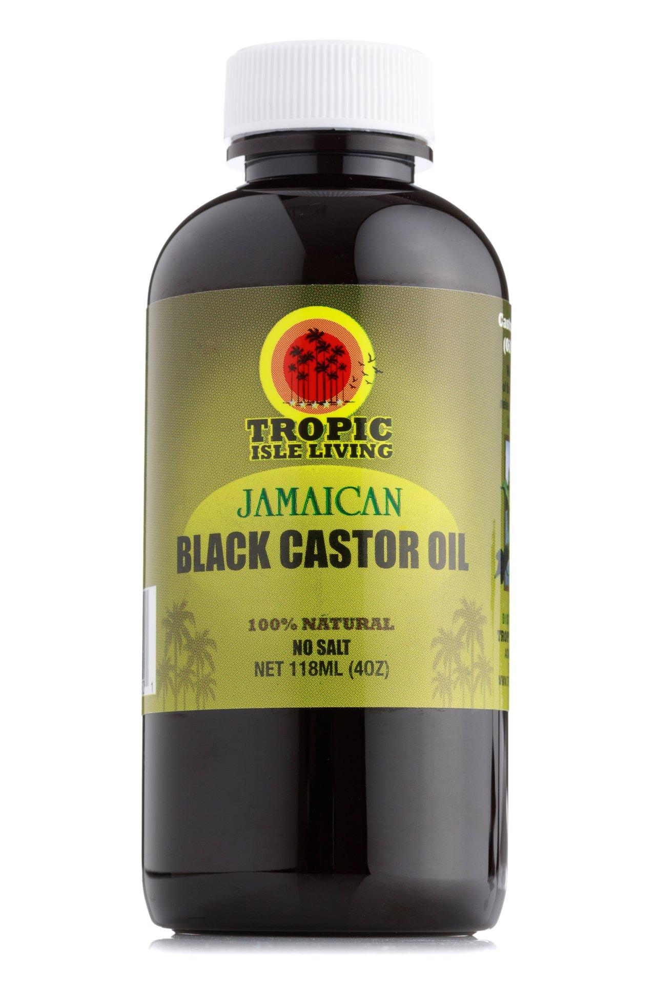 Tropic Isle Living- Jamaican Black Castor Oil-4oz