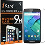 Moto X Style Tempered Glass, iKare 2.5D 9H Tempered Screen Protector for Motorola Moto X Style