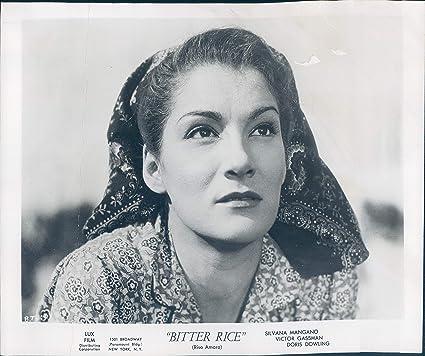 b9294703a0d6d Amazon.com  1951 Press Photo Doris Dowling Actress Bitter Rice Music ...
