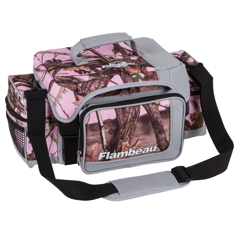 Amazon.com : Flambeau Soft Tackle Bag, Pink Camo, X-Large : Sports ...