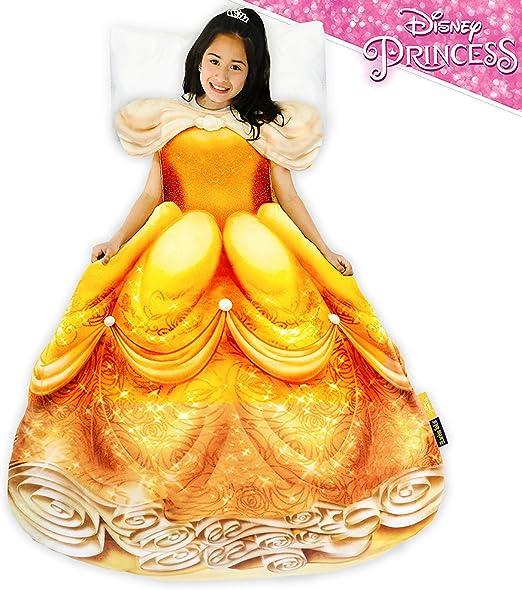Amazon Com Blankie Tails Disney Princess Dress Wearable Blanket
