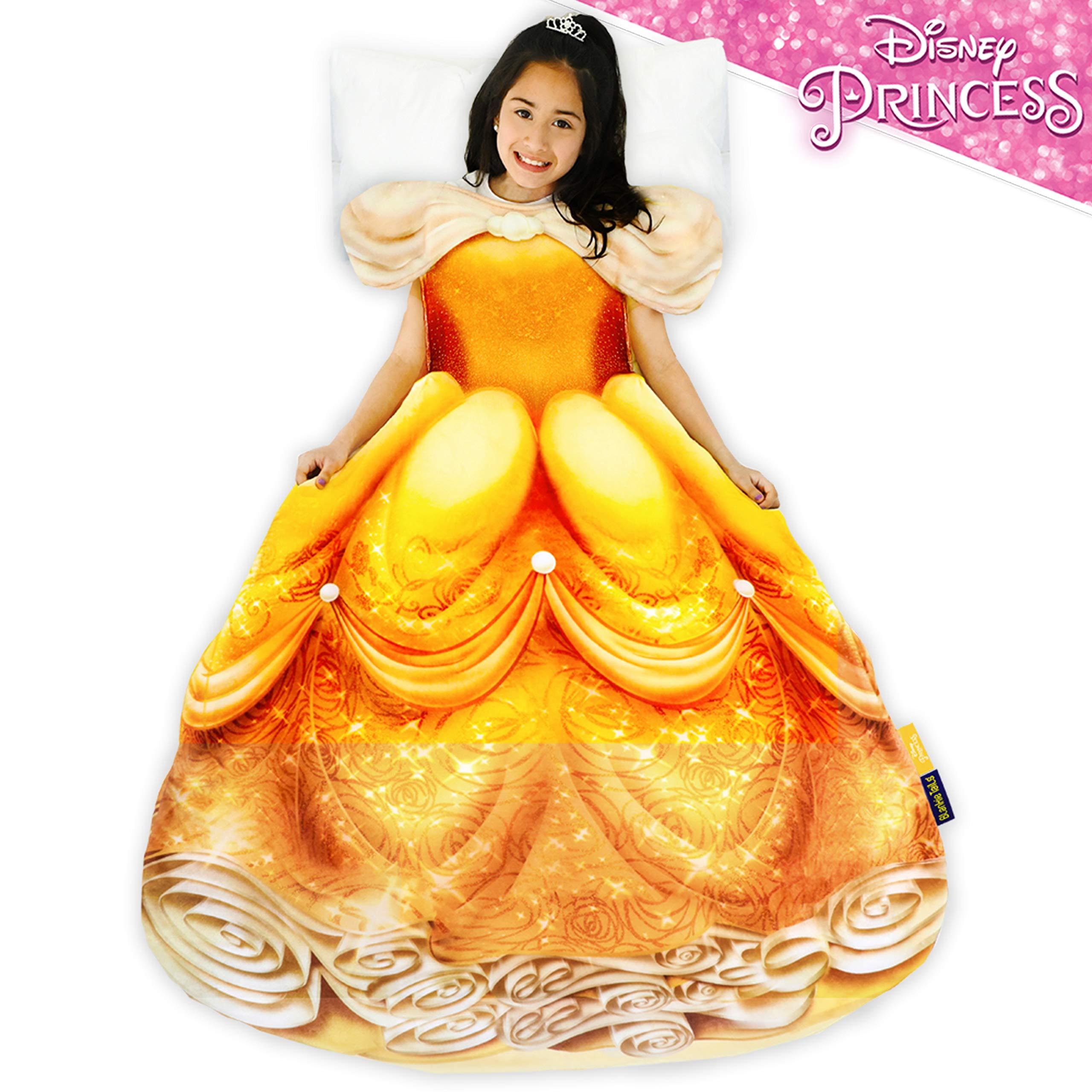 Blankie Tails Disney Princess Belle Dress Wearable Blanket by Blankie Tails