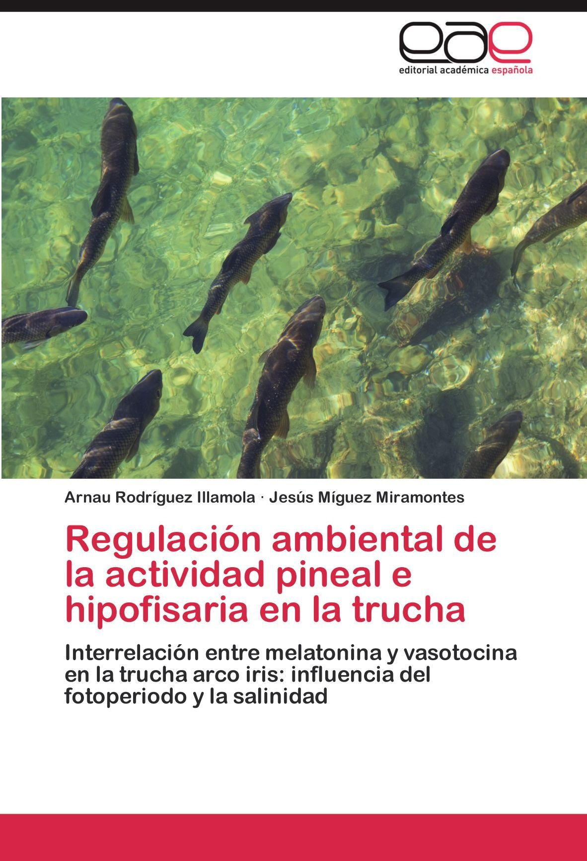 Regulacion Ambiental de La Actividad Pineal E Hipofisaria En La Trucha: Amazon.es: Arnau Rodr Guez Illamola, Jes S. M. Guez Miramontes, Arnau Rodriguez ...