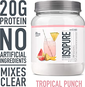 Isopure Refreshingly Light Fruit Flavored Protein Powder