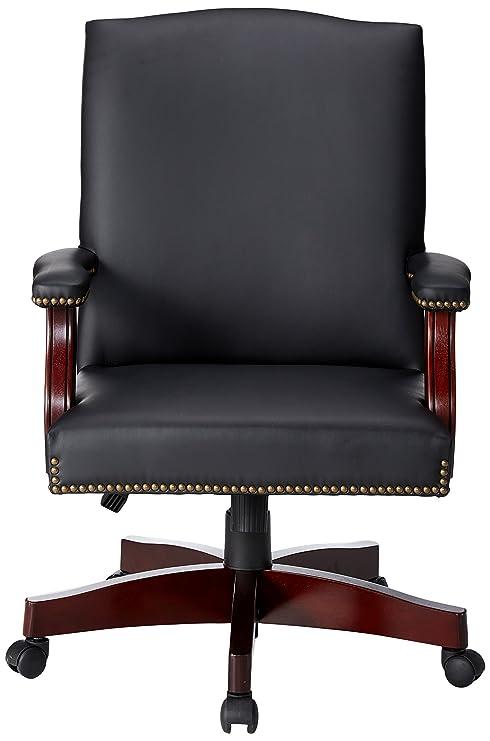 Pleasant Amazon Com Lorell Llr68250 Traditional Executive Bonded Evergreenethics Interior Chair Design Evergreenethicsorg