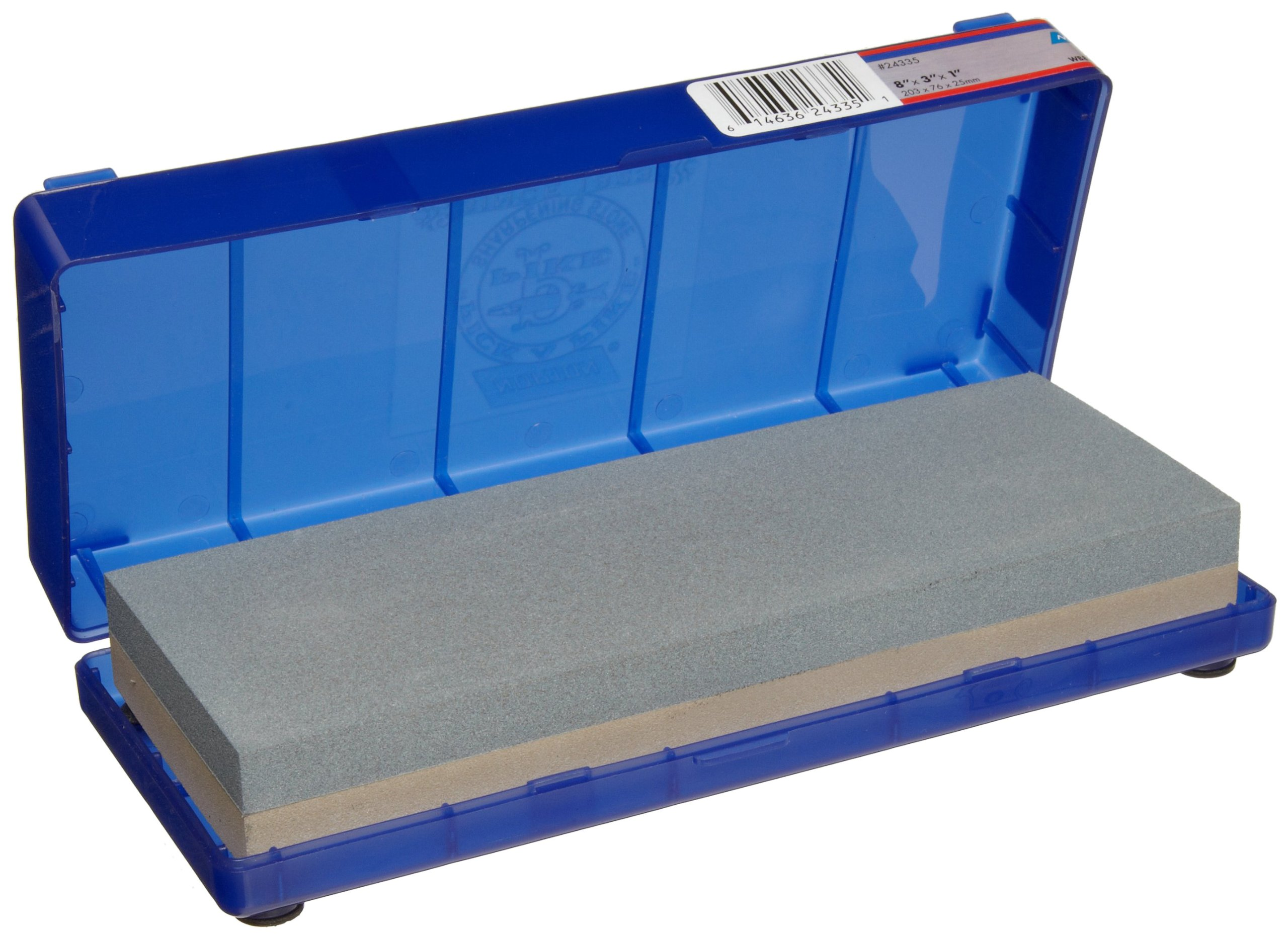 Norton 24335 Japanese-Style Combination Waterstone 220/1000 Grit, 8-Inch by 3-Inch by 1-Inch by Norton Abrasives - St. Gobain