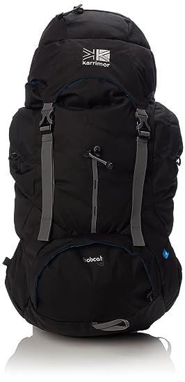 6282fe249206 Karrimor Bobcat Unisex Outdoor Hiking Backpack available in Black - 65  Litres