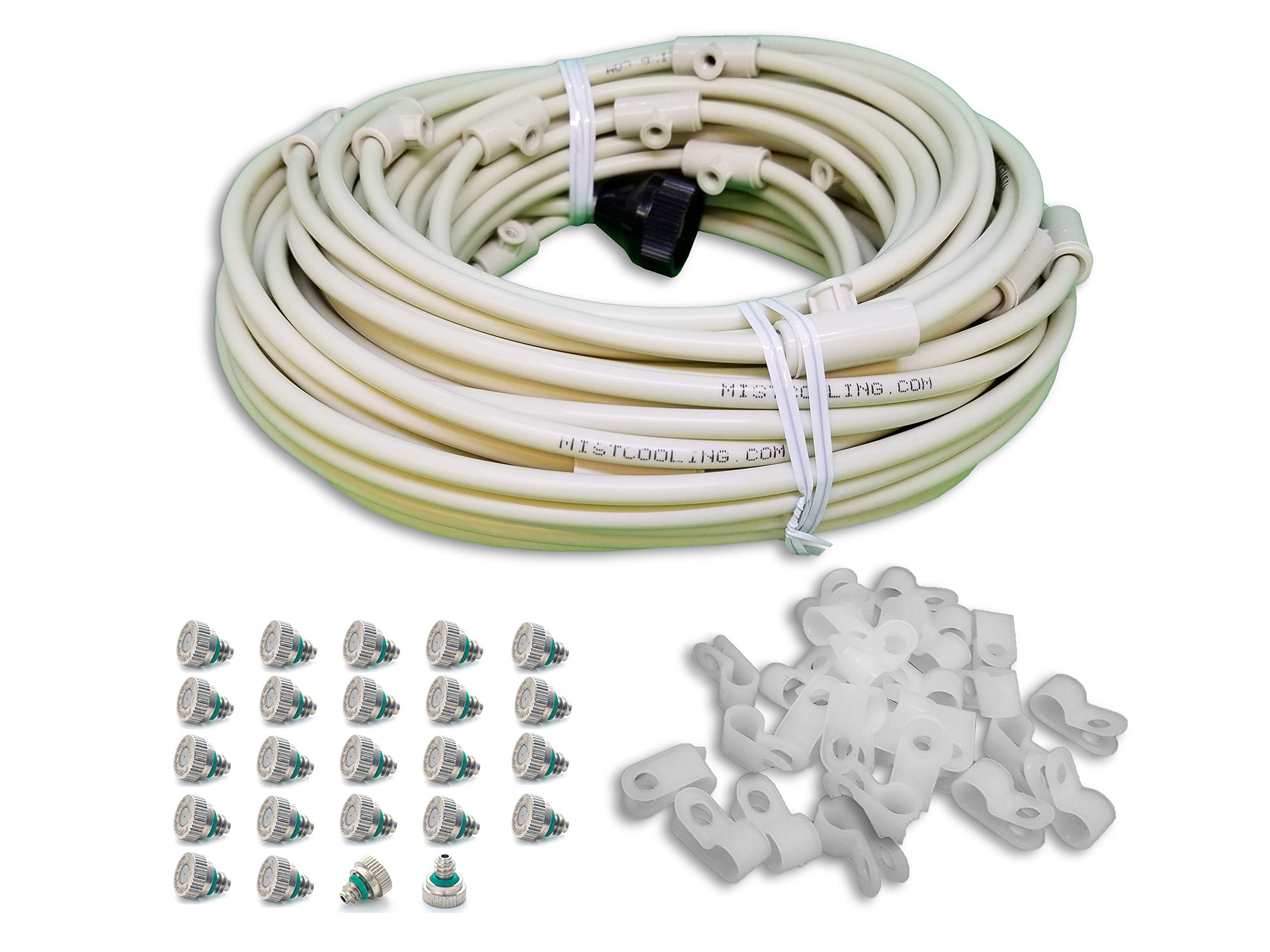 mistcooling Patio MISTING KIT (84 Feet - 24 Nozzles) by mistcooling