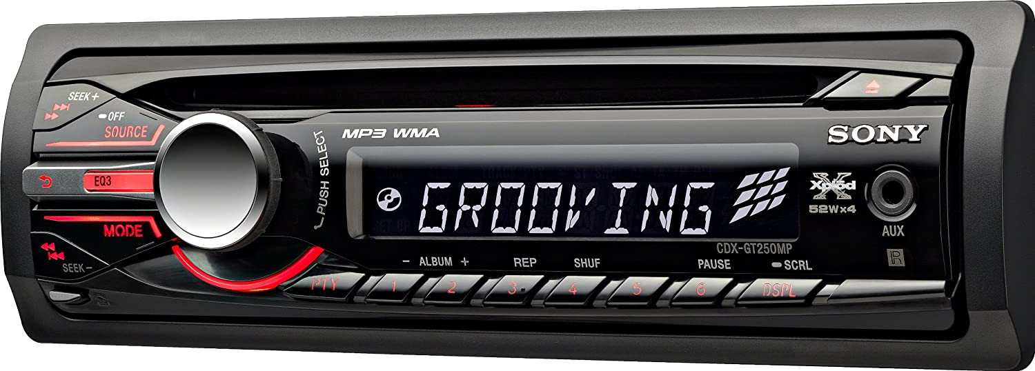 amazon com sony cdxgt250mp mp3 wma cd receiver (discontinued by Wiring Diagrams For Dummies amazon com sony cdxgt250mp mp3 wma cd receiver (discontinued by manufacturer) cell phones \u0026 accessories
