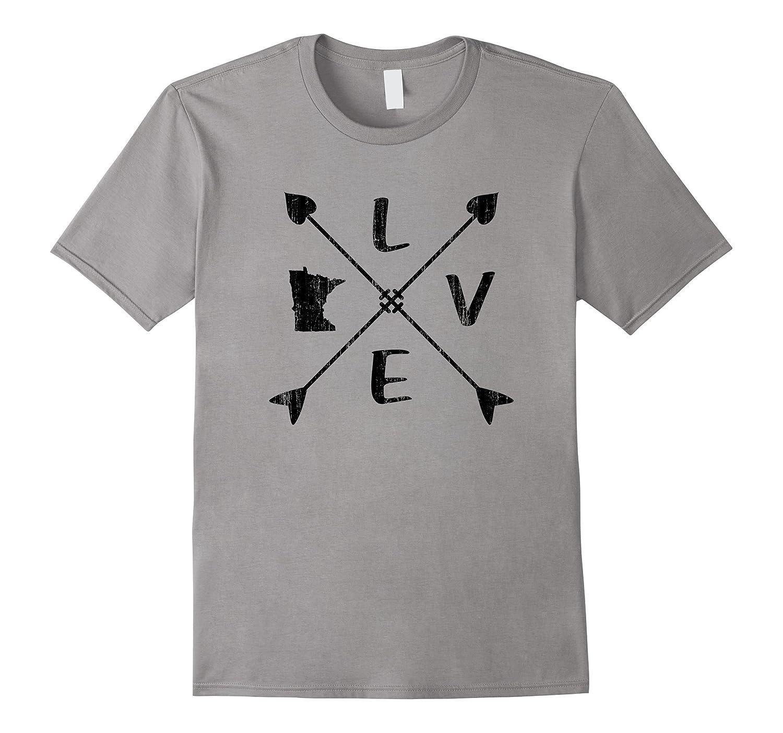 Minnesota T-Shirt Love Minnesota Shirt-FL