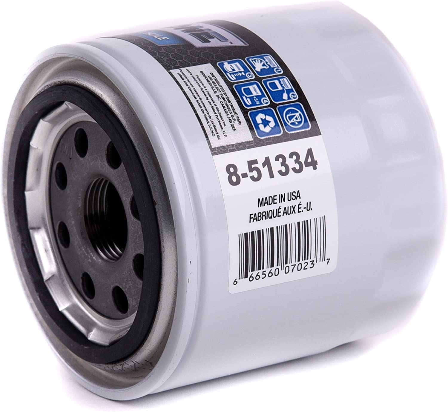 Pack of 1 8-51334 PUREZONE Spin-On Oil Filter Filtre /à huile