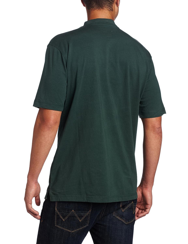 1aee71c50399 Wrangler Riggs Workwear Mens Short Sleeve Henley Heather Gray Wrangler  Men's Sportswear 3W760 Men