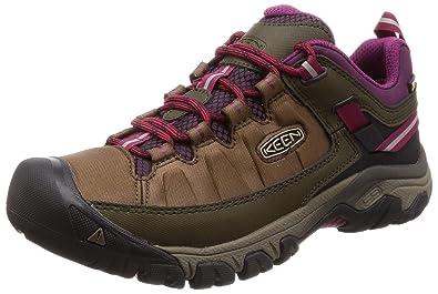 79e92c1122 Keen Targhee Exp Wp W Canteen/Grape Wine Womens Hiking Shoe Size 5.5M