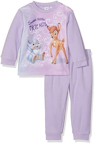 Disney Characters Sweet Love, Pelele para Dormir para Bebés, Morado (Purple 14-
