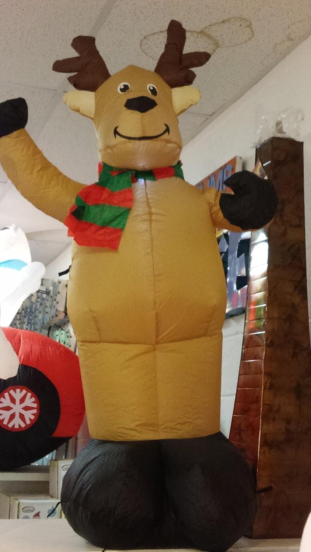 Gemmy Airblown Inflatable Reindeer