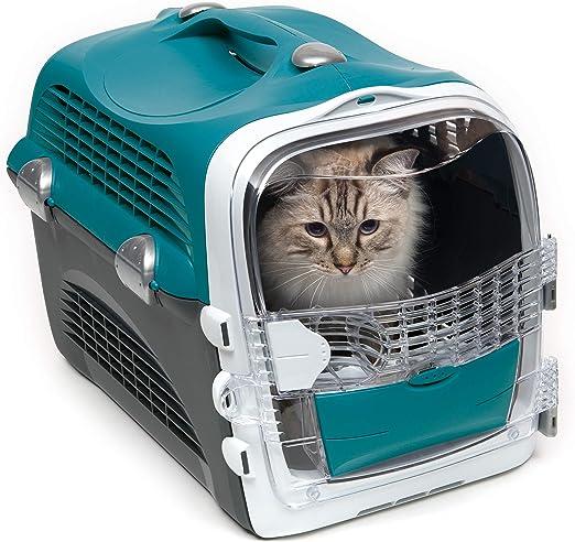 Catit Pet Cabrio Transportín Turquesa: Amazon.es: Productos para mascotas