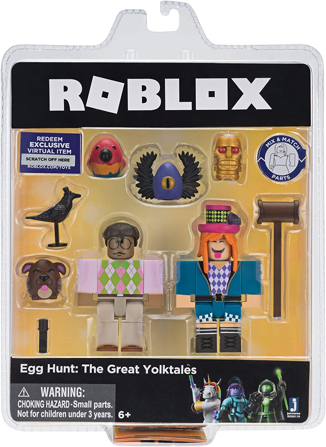 Amazon Com Roblox Celebrity Collection Egg Hunt The Great