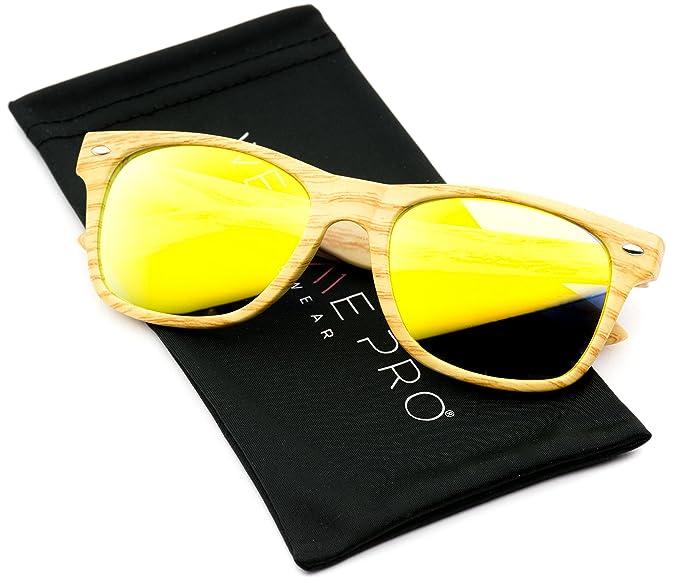 Gafas de sol de pasta con lentes de color reflectantes Revo ...