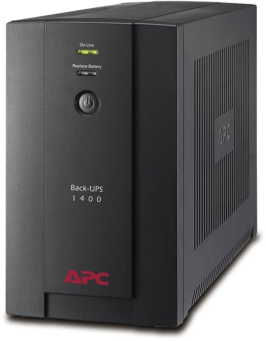 760 opinioni per APC Back-UPS BX Gruppo di continuità UPS 1400VA BX1400U-GR- AVR, 4 Uscite