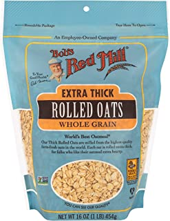 product image for Bob's Red Mill Extra Thick Rolled Oats, 16 Oz