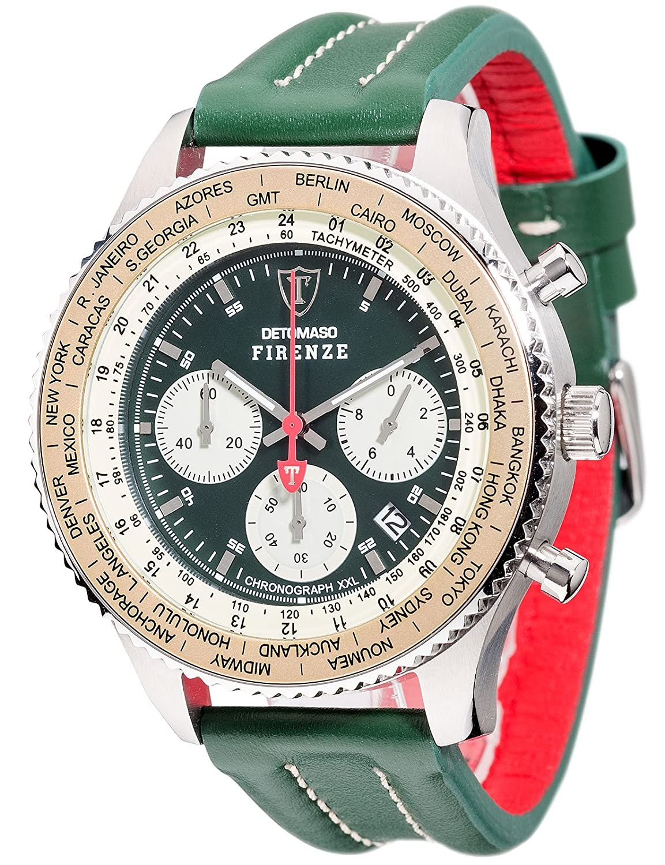 DETOMASO Herren-Armbanduhr Man Firenze Chronograph Quarz DT1045-B
