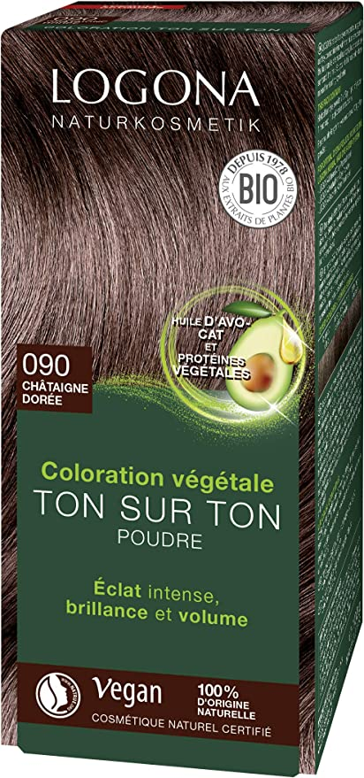 Logona Colorante vegetal castaño 070 100gr. 1 Unidad 100 g ...