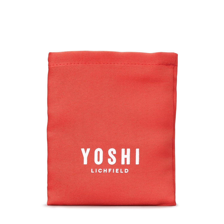 Custard Cream Leather Coin Purse by Yoshi