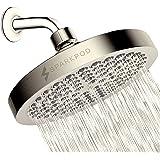 SparkPod Shower Head - High Pressure Rain - Luxury Modern Look - Easy Tool Free Installation - The Perfect Adjustable…