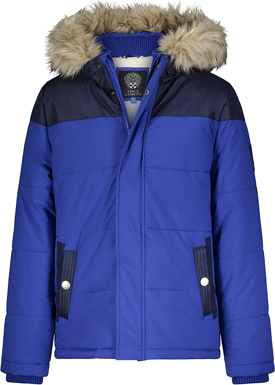 Vince Camuto Boys Warm Hooded Puffer Jacket Coat