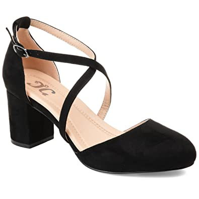 5f49185ab1a Journee Collection Comfort Womens Foster Pump Black