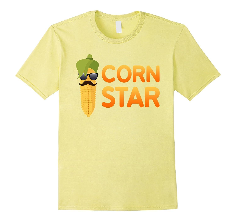 Corn Star T-Shirt Funny Corn Farmer Tee-BN