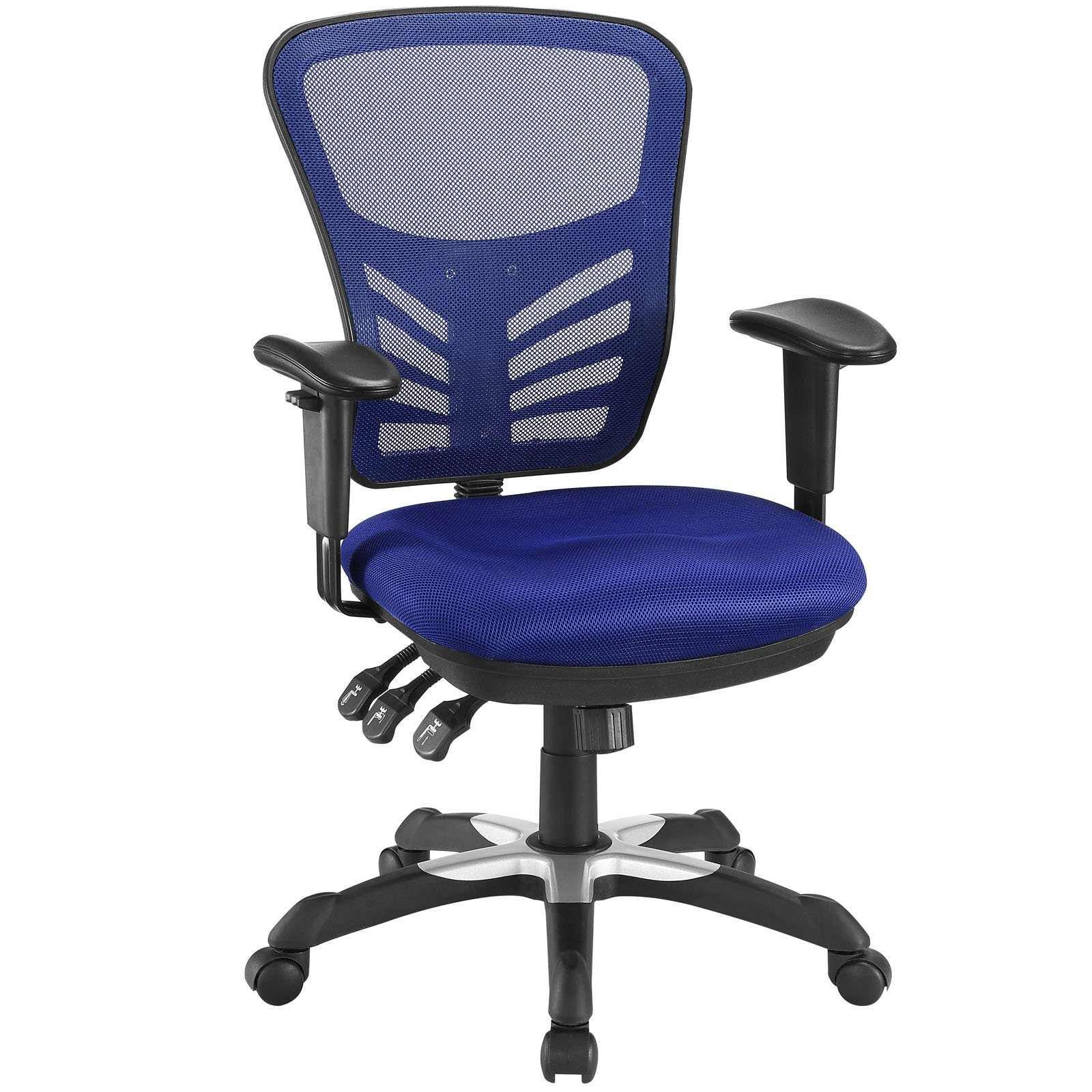 Modway Articulate Office Chair, Blue