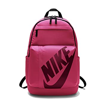 Nike Unisex Adult Elemental Backpack Rucksack,Black   Red (Fusion Tough  Red), ad3c5595eb