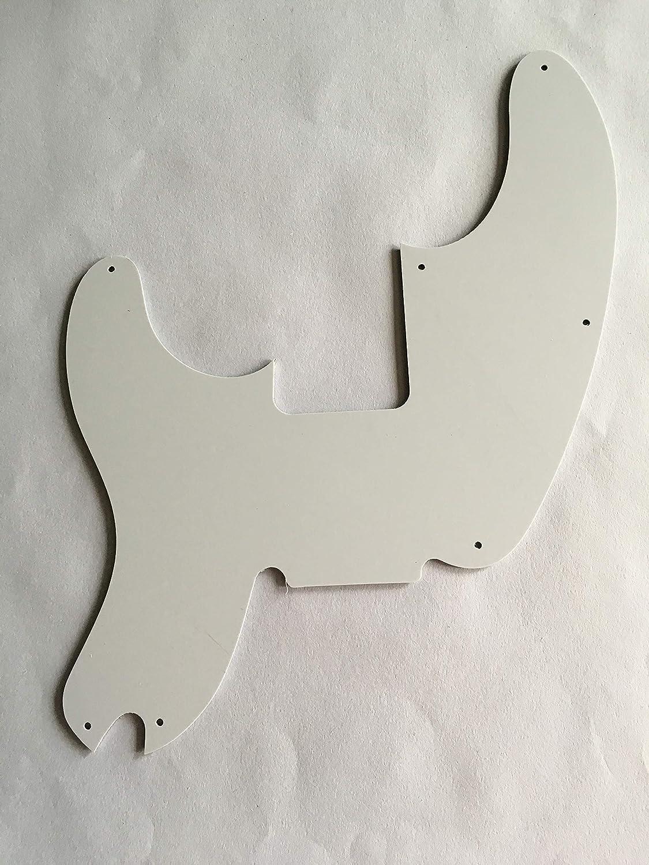 Custom For Fender Telecaster Precision Bass Electric Guitar Pickguard 4 Ply Brown Tortoise