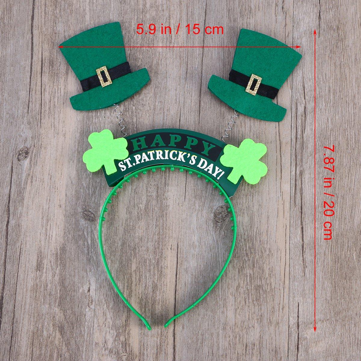 ST PATRICKS DAY JESTER HAT GREEN//WHITE BELLS+GREEN//WHITE STRIPE SOCKS FANCYDRESS