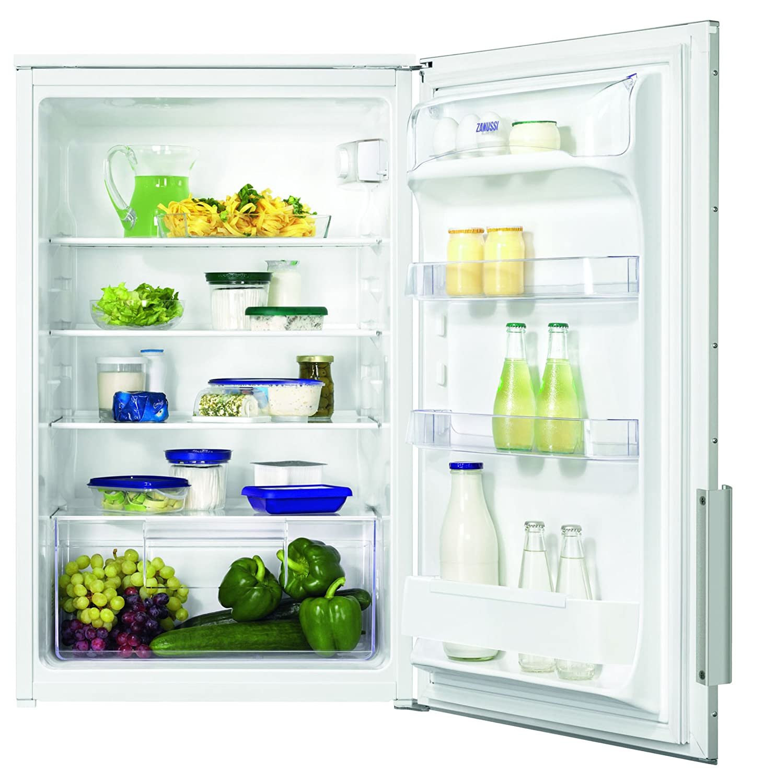 Zanussi ZBA15040WA Kühlschrank/A++ / 87,30 cm Höhe / 96 kWh/Jahr ...