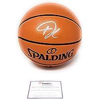 Giannis Antetokounmpo Milwaukee Bucks Signed Autograph NBA Game Basketball… photo