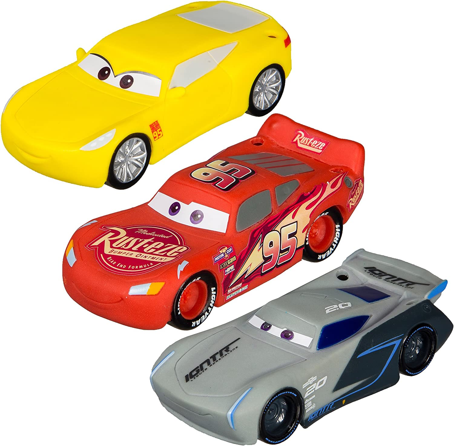 Amazon Com Swimways Disney Cars Dive Characters Pack Of 3 Toys