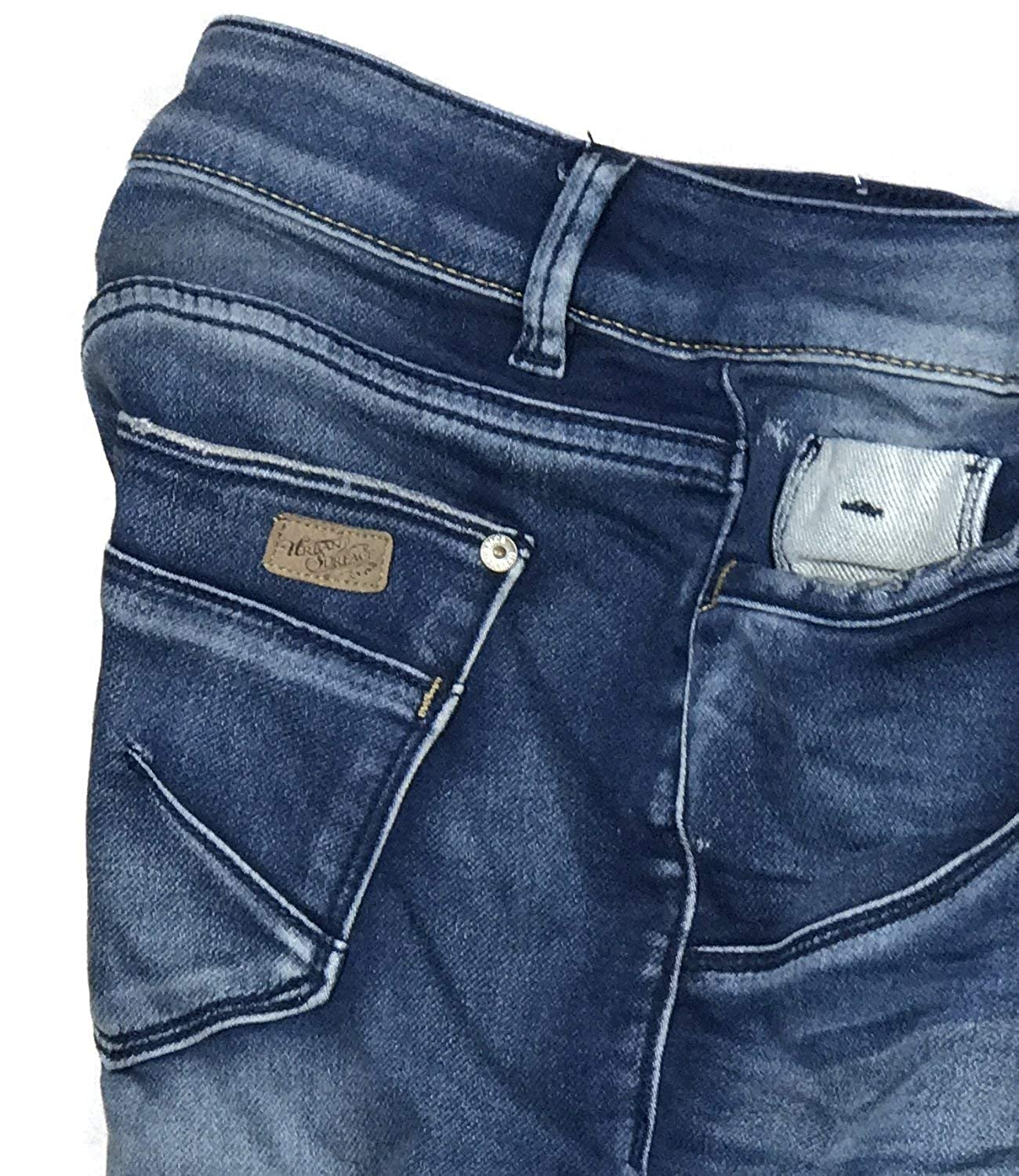 Eight2Nine Damen Short Jeansshort Sweat Jeans Bermuda 5 Pocket by URS