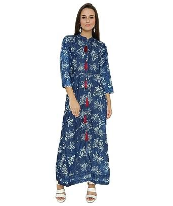 5b3cc95cd4a Shokhi Women'S Blue Dresses: Amazon.in: Clothing & Accessories